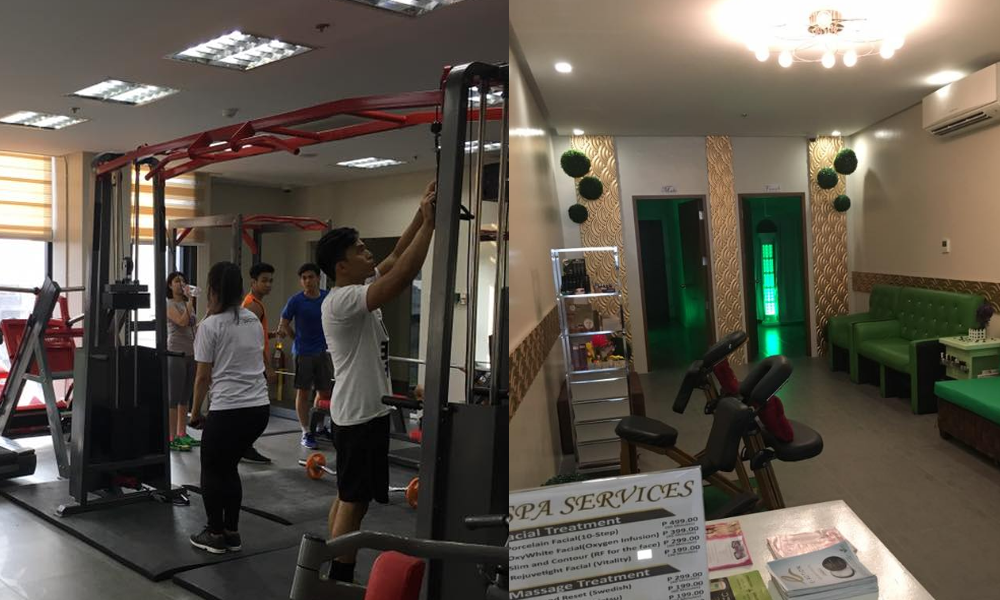 Look ust launched its own spa and wellness center journey ph